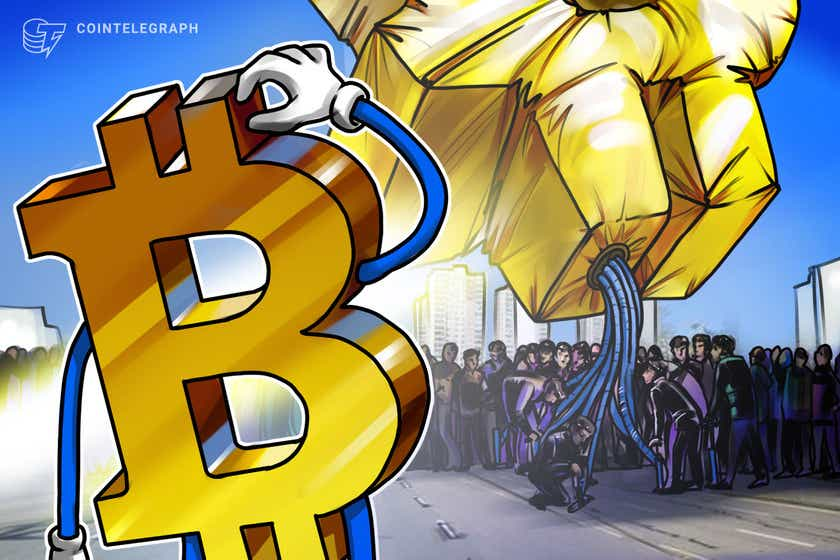 Roughly 11,000 entities represent 55% of Bitcoin's on-chain volume